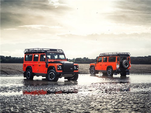 Jaguar Land Rover перерегистрировал бренд «Defender»