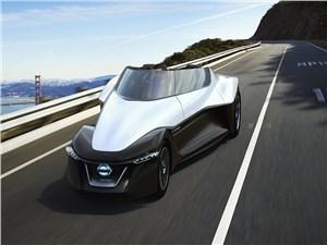 Предпросмотр nissan badeglayder concept 2013 вид спереди на дороге