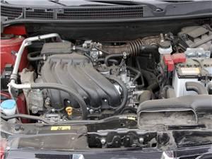 Nissan Qashqai 2010 двигатель