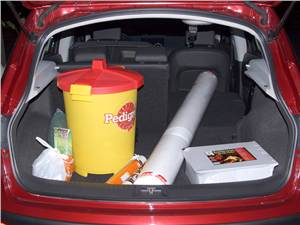 Nissan Qashqai 2010 багажное отделение