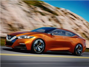Предпросмотр nissan sport sedan concept 2014 вид сбоку фото 2