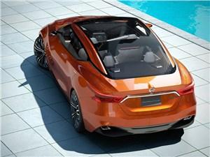 Предпросмотр nissan sport sedan concept 2014 вид сзади сверху