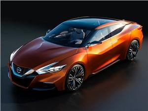 Предпросмотр nissan sport sedan concept 2014 вид спереди сверху