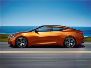 Предпросмотр nissan sport sedan concept 2014 вид сбоку фото 3