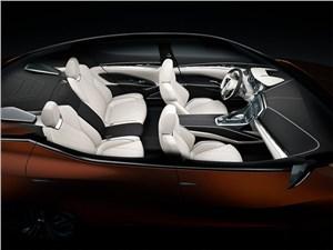 Предпросмотр nissan sport sedan concept 2014 салон