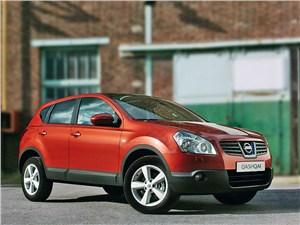 Nissan Qashqai 2007 вид спереди