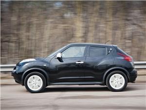 Nissan Juke 2012 вид сбоку