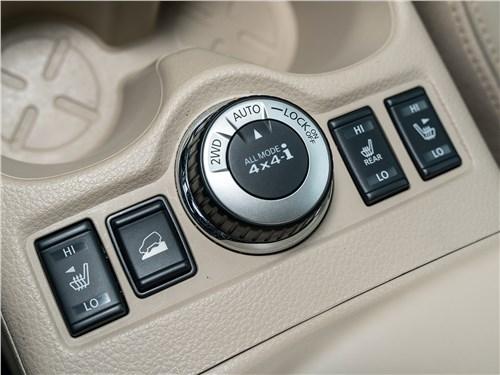 Nissan X-Trail 2018 селектор режимов