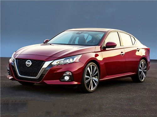 Новость про Nissan Teana - Nissan Altima