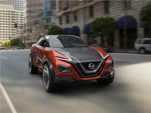 Новость про Nissan Juke - Nissan представит на Токийском автосалоне новое поколение Juke