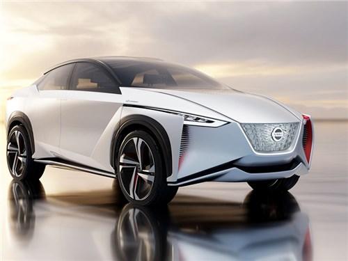Nissan представил электрический кроссовер