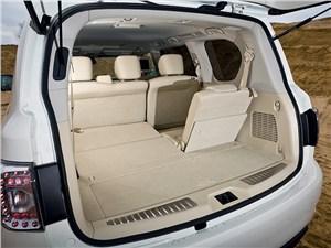 Nissan Patrol 2010 багажное отделение