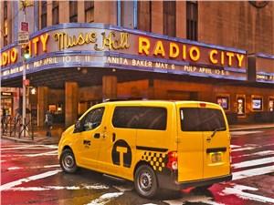 Предпросмотр nissan nv200 taxi 2014 вид сзади сбоку фото 2