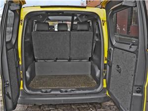 Предпросмотр nissan nv200 taxi 2014 багажное отделение
