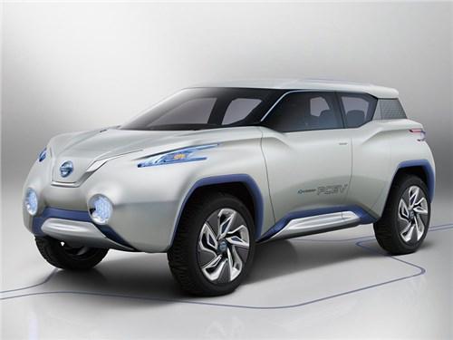 Nissan создаст кроссовер на базе Leaf