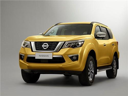 Nissan показал свой рамный внедорожник