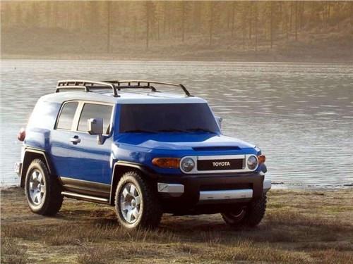 Новость про Toyota FJ Cruiser - Toyota прекращает серийное производство внедорожника FJ Cruiser