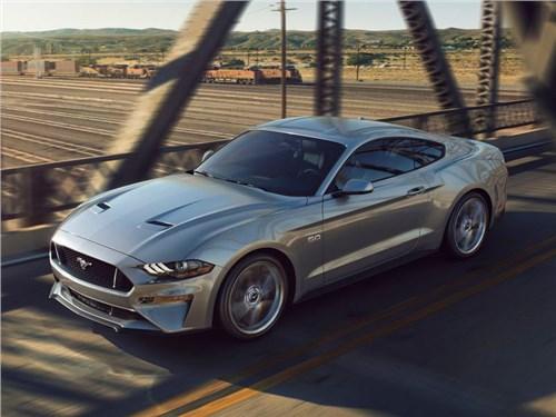 Ford показал обновленную версию маслкара Mustang