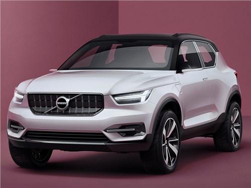 Volvo определилась с датой премьеры нового XC40