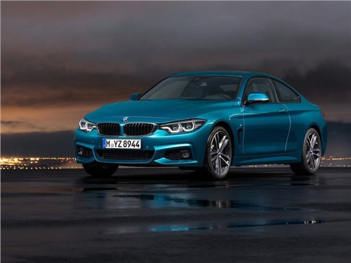 Новость про BMW 4 series - BMW представила обновленное семейство 4-Series