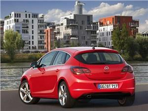 Немецкий гольф-класс на вторичном рынке (VW Golf IV, Audi A3, Ford Focus, Opel Astra, Mercedes-Benz A-Klasse) Astra -