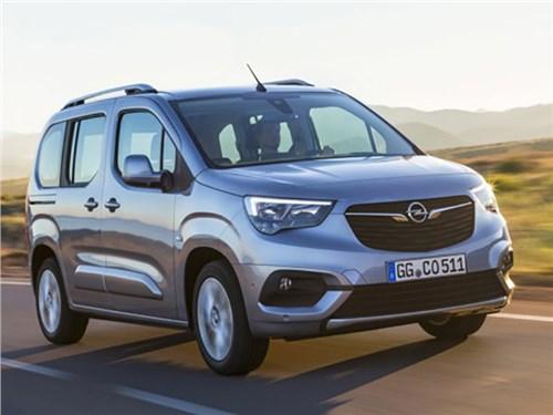 Новый Opel Combo: смена платформы и имиджа