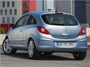 Оптический обман (Opel Corsa С, Ford Fiesta, VW Polo) Corsa -