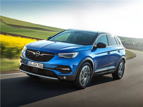 Opel Grandland X: новая эпоха немецкой компании