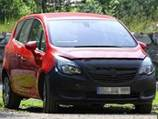 Папарацци поймали в объективы обновленный Opel Meriva