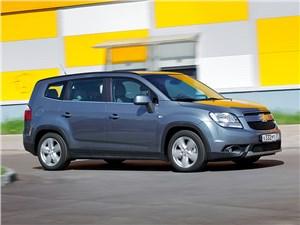 Chevrolet Orlando 2013 вид сбоку 3/4