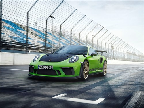 Новость про Porsche 911 GT3 RS - Porsche 911 GT3 RS