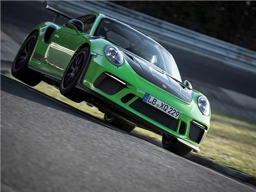 Porsche 911 911 GT3 RS побил рекорд предшественника