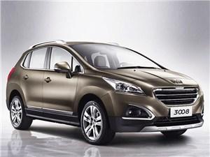 Новый Peugeot 3008 - Peugeot 3008 2013 вид спереди
