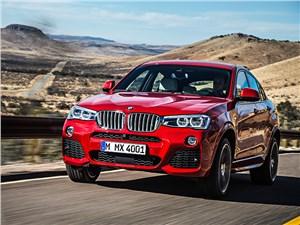 BMW X4 2014 вид спереди фото 1