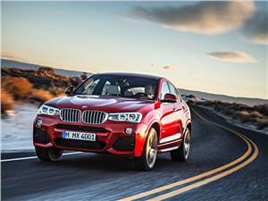 BMW X4 - BMW X4 2014 вид спереди фото 5