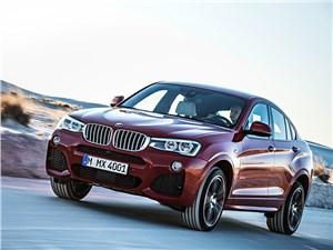 BMW X4 - BMW X4 2014 вид спереди фото 9
