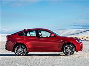 BMW X4 - BMW X4 2014 вид сбоку фото 3