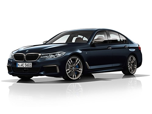 Новость про BMW 5 series - BMW M550d xDrive