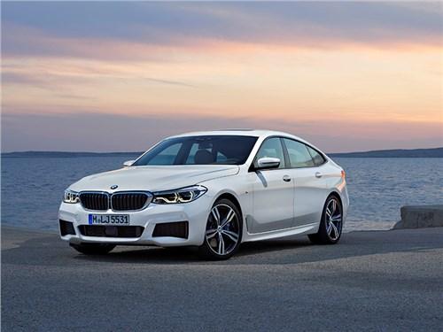 BMW раскрыла комплектации новой 6 GT для России
