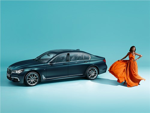 BMW 7-й серии получила юбилейную версию
