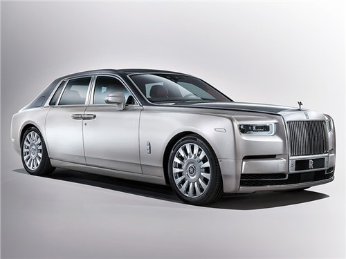 Rolls-Royce представил новый Phantom
