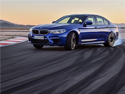 Новый BMW M5 оказался в России дешевле, чем в Германии