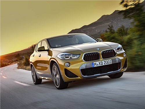 BMW рассекретила кроссовер X2