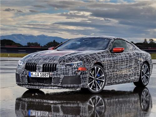 BMW назвала дату премьеры возрожденной 8-й серии
