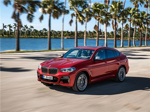 BMW рассекретила новый X4