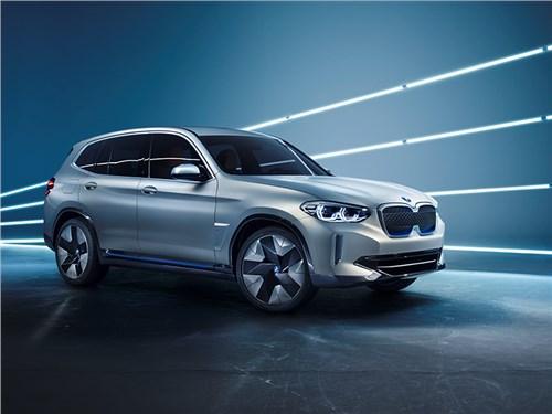 BMW представила свой электрический кроссовер