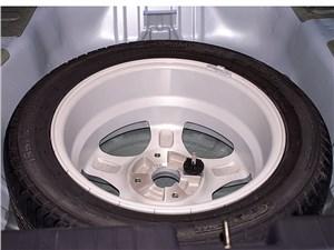 Предпросмотр chery fora 2006 полноразмерное запасное колесо