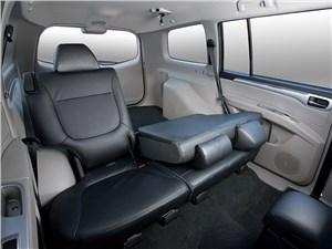 Mitsubishi Pajero Sport 2013 складывание сидений