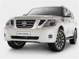 Nissan Patrol - Nissan Patrol 2014 вид спереди