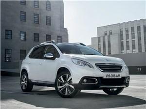 Peugeot 2008 2013 вид спереди